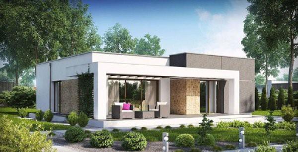 Những mẫu thiết kế nhà cấp 4 mái bằng 2-3 phòng ngủ, nhà đông người nên xây - Ảnh 2.