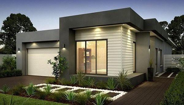 Những mẫu thiết kế nhà cấp 4 mái bằng 2-3 phòng ngủ, nhà đông người nên xây - Ảnh 3.