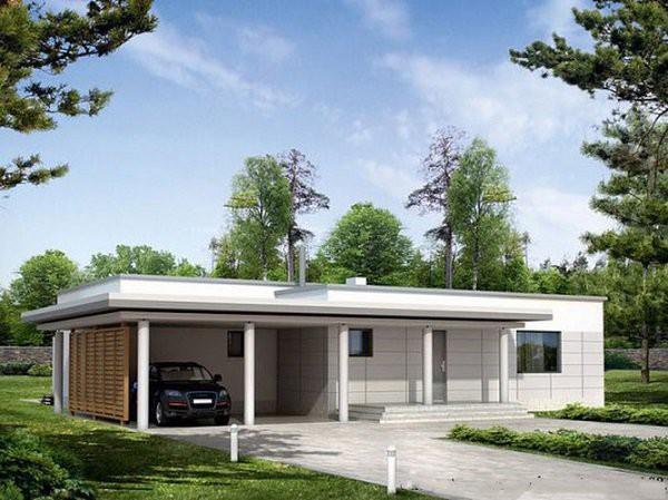 Những mẫu thiết kế nhà cấp 4 mái bằng 2-3 phòng ngủ, nhà đông người nên xây - Ảnh 6.