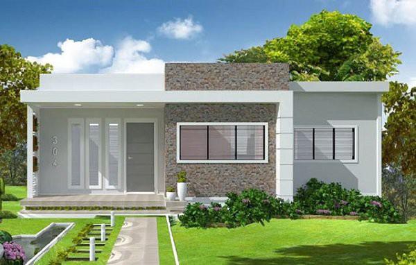 Những mẫu thiết kế nhà cấp 4 mái bằng 2-3 phòng ngủ, nhà đông người nên xây - Ảnh 7.