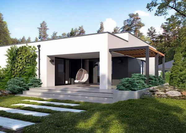 Những mẫu thiết kế nhà cấp 4 mái bằng 2-3 phòng ngủ, nhà đông người nên xây - Ảnh 9.