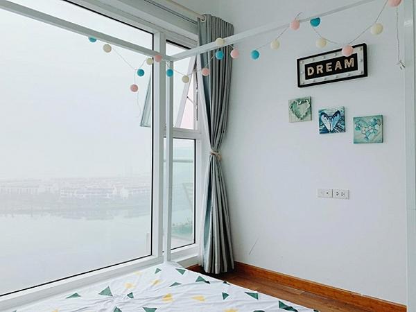 Hoa hậu Ngọc Hân khoe căn hộ ven biển tự thiết kế, nhìn góc ban công khiến dân tình phải xuýt xoa - Ảnh 8.