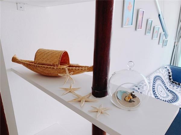 Hoa hậu Ngọc Hân khoe căn hộ ven biển tự thiết kế, nhìn góc ban công khiến dân tình phải xuýt xoa - Ảnh 3.