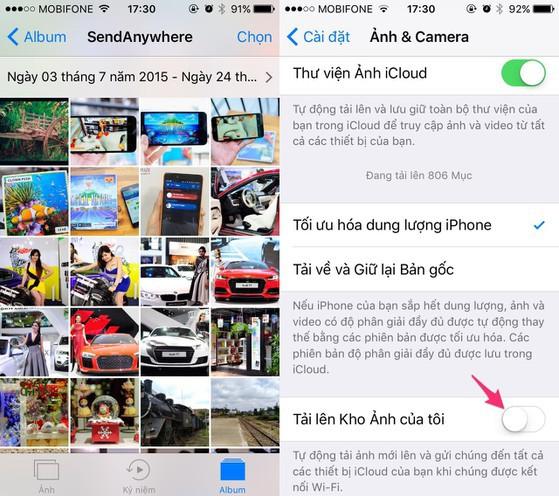 Bốn việc cần làm khi iPhone bị đầy bộ nhớ - Ảnh 2.