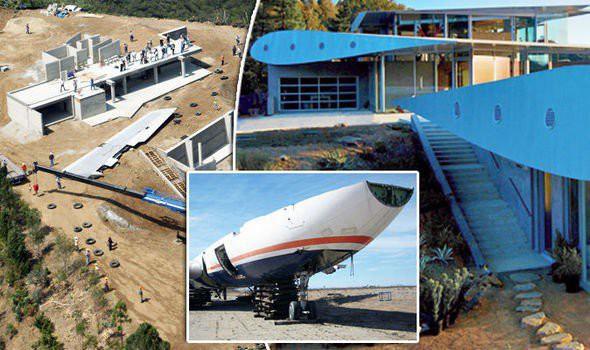 Khám phá biệt thự có cánh độc đáo được xây từ máy bay Boeing 747 - Ảnh 1.