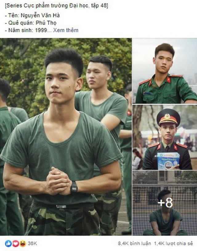 Nam sinh trường quân sự đẹp trai, nhiều tài lẻ  - Ảnh 1.