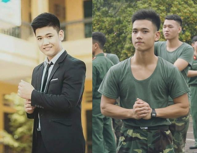 Nam sinh trường quân sự đẹp trai, nhiều tài lẻ  - Ảnh 3.