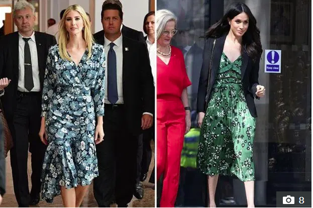 Trước khi chạm trán với con gái Tổng thống Mỹ, Meghan Markle từng phát cuồng, tôn sùng Ivanka Trump và tìm cách bắt chước phong cách - Ảnh 4.