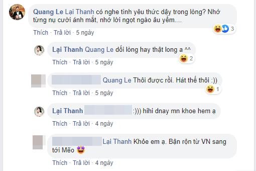 Quang Lê bất ngờ bày tỏ tình cảm với người yêu cũ, phản ứng của Thanh Bi lại gây tò mò - Ảnh 2.