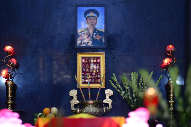 Xúc động hình ảnh cuộc sống bình dị lúc sinh thời của Anh hùng Nguyễn Văn Bảy - Ảnh 1.