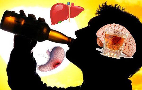 Uống rượu bia thường xuyên sẽ ảnh hưởng nghiêm trọng đến nội tạng - Ảnh 1.