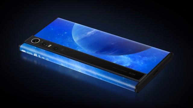 Độc đáo chiếc smartphone có màn hình... bao quanh thân máy, giá 2.800 USD - Ảnh 3.