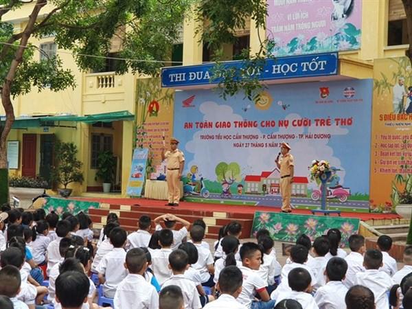 Hàng loạt học sinh tiểu học ở Hải Dương nghỉ ốm chưa rõ nguyên nhân - Ảnh 3.