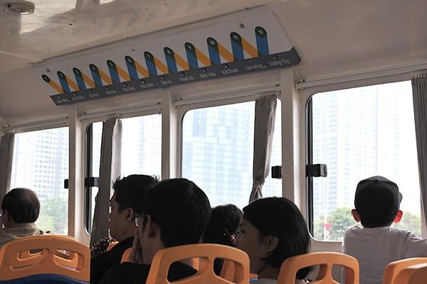 Trải nghiệm tuyến buýt đường sông duy nhất tại Việt Nam - Ảnh 8.
