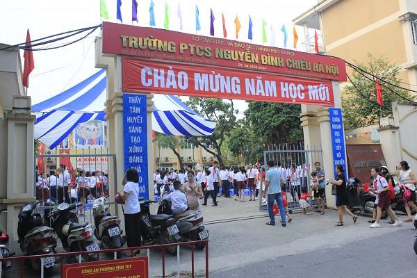 Khai giảng ấm áp của những học sinh khiếm thị trường PTCS Nguyễn Đình Chiểu - Ảnh 3.