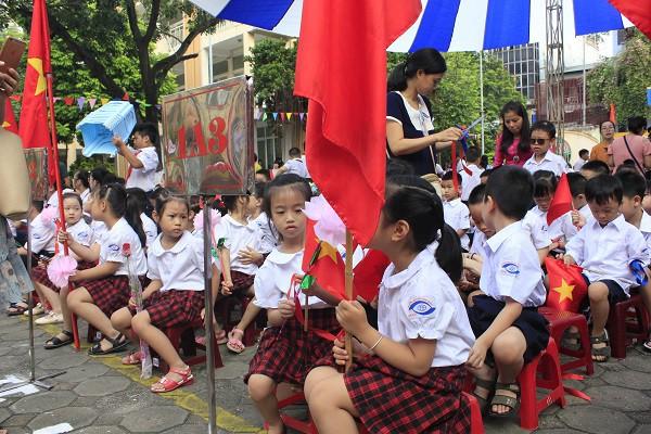 Khai giảng ấm áp của những học sinh khiếm thị trường PTCS Nguyễn Đình Chiểu - Ảnh 5.