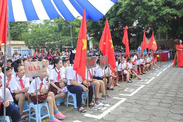 Khai giảng ấm áp của những học sinh khiếm thị trường PTCS Nguyễn Đình Chiểu - Ảnh 6.