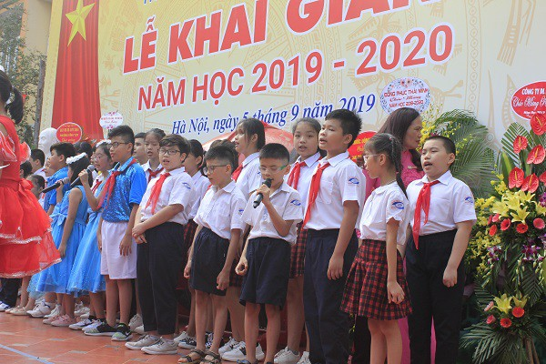 Khai giảng ấm áp của những học sinh khiếm thị trường PTCS Nguyễn Đình Chiểu - Ảnh 12.