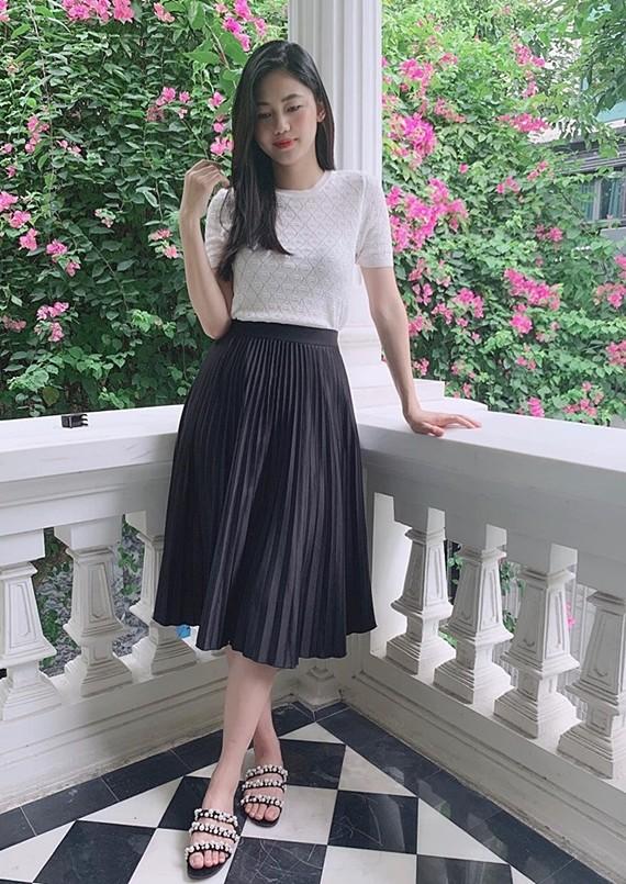 Á hậu Thanh Tú giảm 10 kg sau sinh - Ảnh 4.