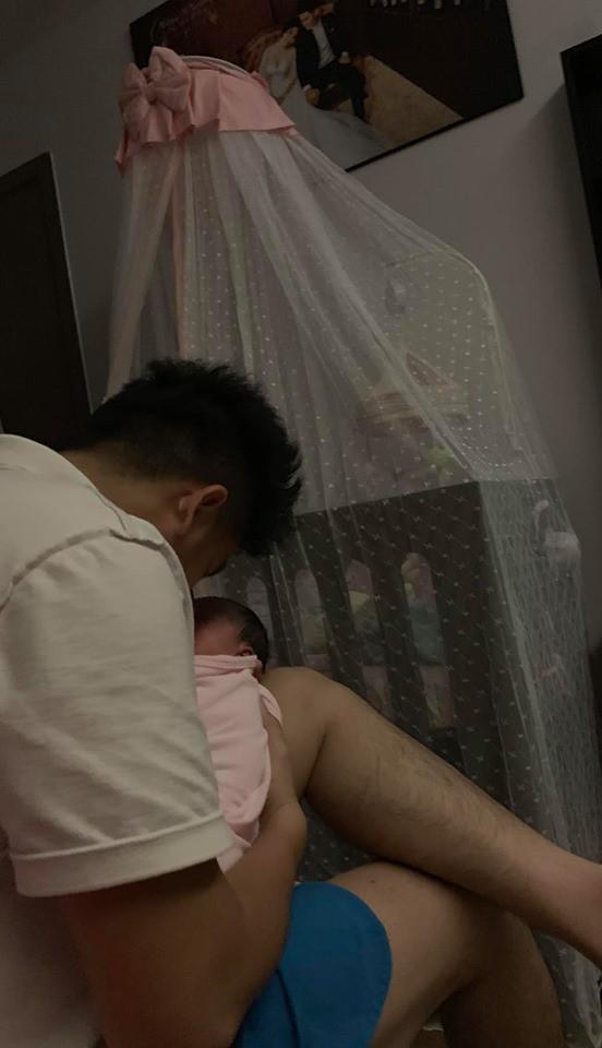 Khoe chồng chăm con không kể ngày đêm, Lê Phương khiến các chị em nổ đom đóm mắt vì ghen tị - Ảnh 3.