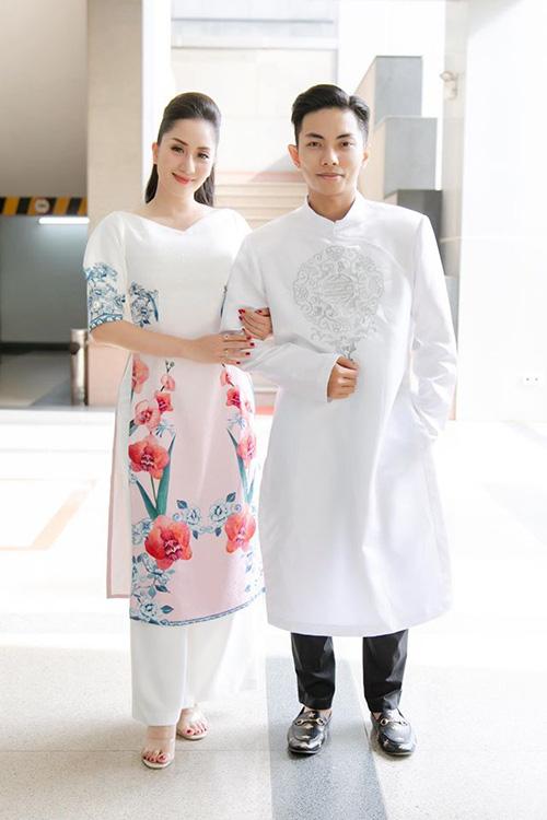 Chồng trẻ Phan Hiển không muốn Khánh Thi đẻ thêm - Ảnh 1.