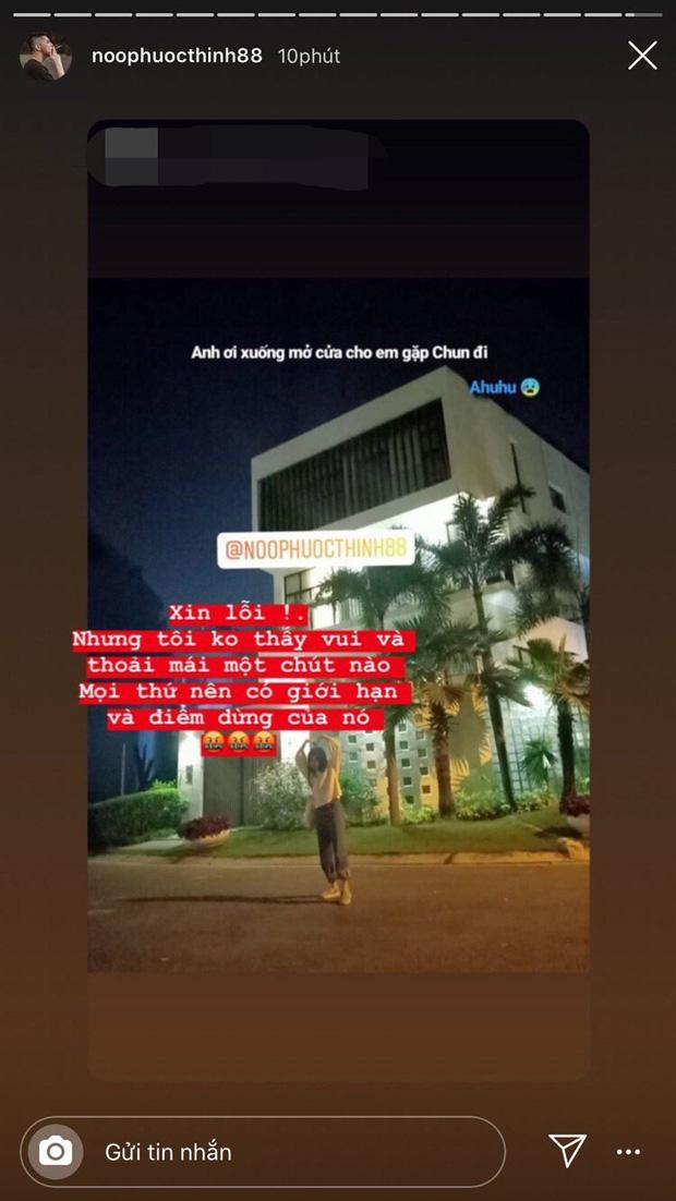 Nối tiếng thân thiện, gần gũi với người hâm mộ, Noo Phước Thịnh vẫn không tránh khỏi bức xúc khi bị fan cuồng tới tận nhà check in giữa đêm - Ảnh 7.