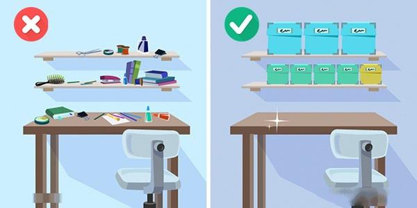 10 cách xếp gọn đồ đạc trong nhà cực kì thông minh, bạn sẽ hối tiếc nếu bỏ qua - Ảnh 8.