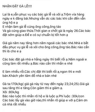 Dạo một vòng chợ Hà Nội: Giá gà cúng đa dạng, loại đắt và đẹp nhất rơi vào khoảng 300 nghìn đồng/kg - Ảnh 16.