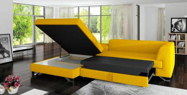 Làm mới phòng khách bằng ghế sofa giường - Ảnh 12.