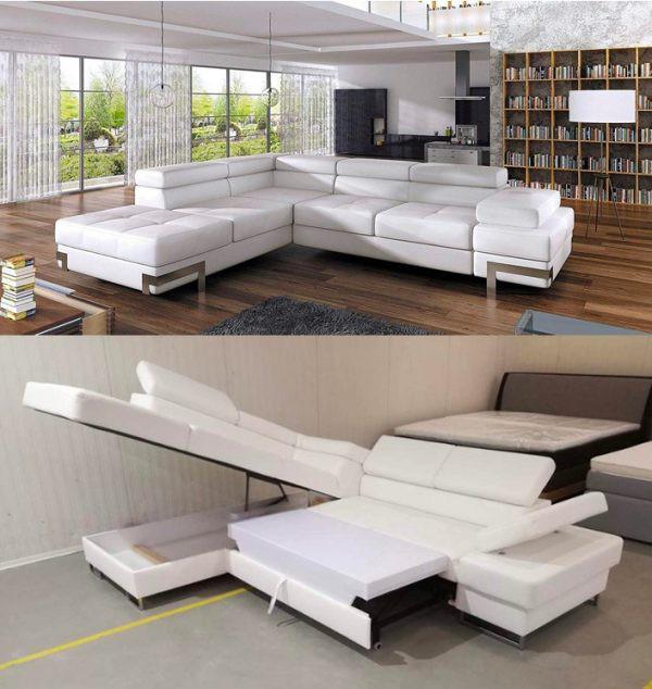 Làm mới phòng khách bằng ghế sofa giường - Ảnh 3.