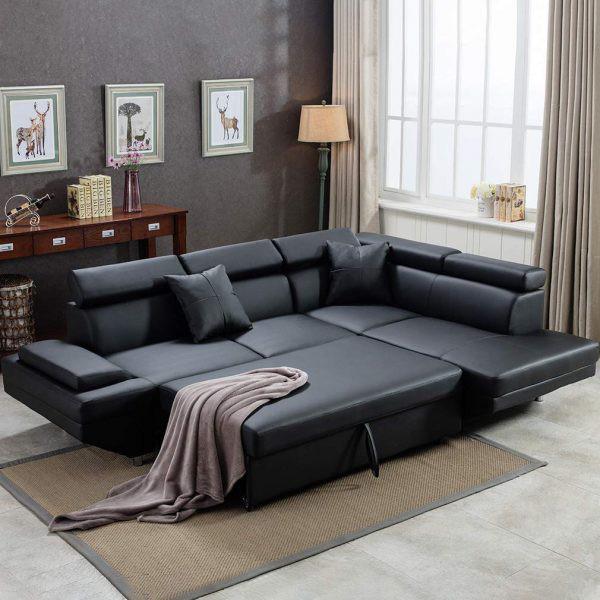 Làm mới phòng khách bằng ghế sofa giường - Ảnh 4.