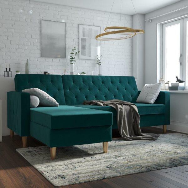 Làm mới phòng khách bằng ghế sofa giường - Ảnh 5.