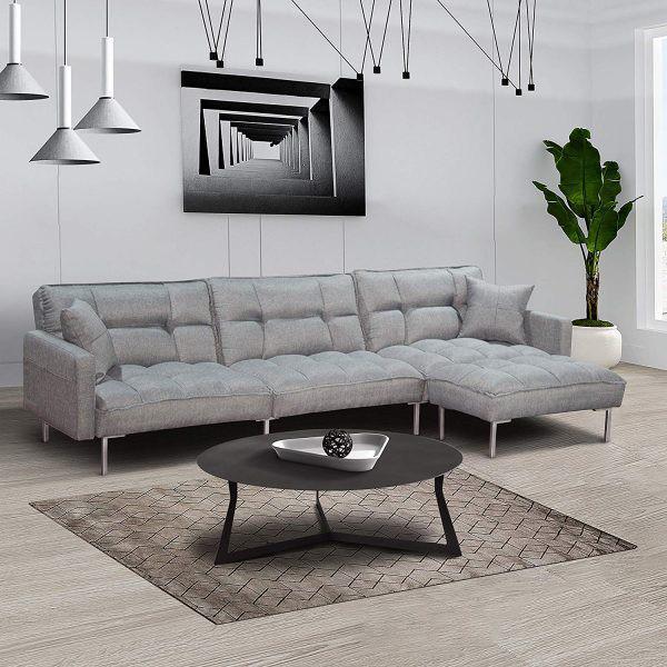 Làm mới phòng khách bằng ghế sofa giường - Ảnh 6.
