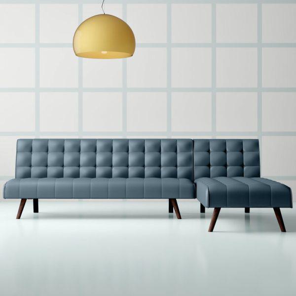 Làm mới phòng khách bằng ghế sofa giường - Ảnh 7.