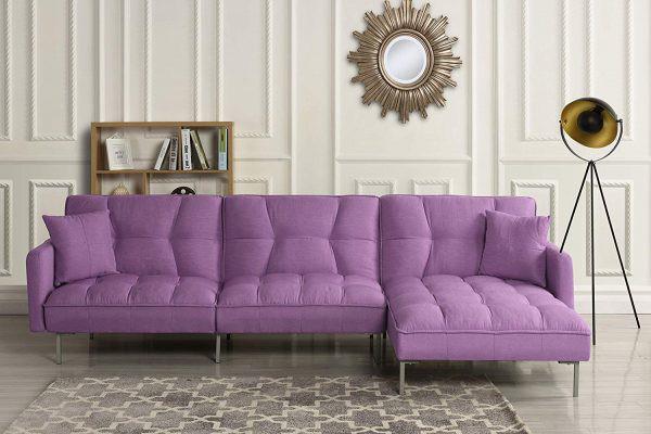 Làm mới phòng khách bằng ghế sofa giường - Ảnh 8.
