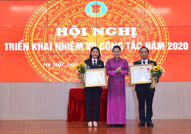 Chủ tịch QH Nguyễn Thị Kim Ngân dự hội nghị triển khai công tác của Kiểm toán Nhà nước - Ảnh 2.
