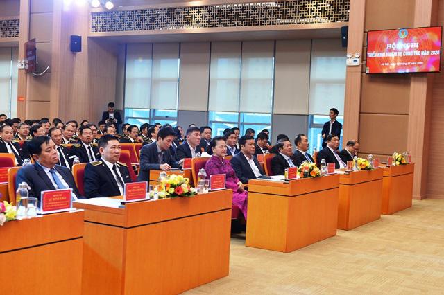 Chủ tịch QH Nguyễn Thị Kim Ngân dự hội nghị triển khai công tác của Kiểm toán Nhà nước - Ảnh 3.