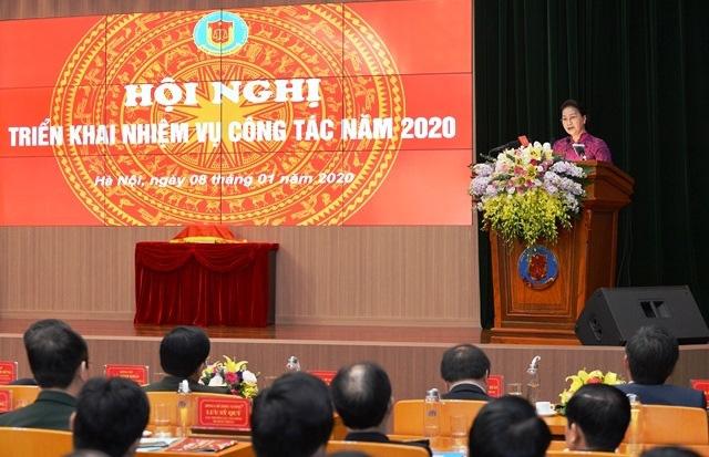 Chủ tịch QH Nguyễn Thị Kim Ngân dự hội nghị triển khai công tác của Kiểm toán Nhà nước - Ảnh 1.