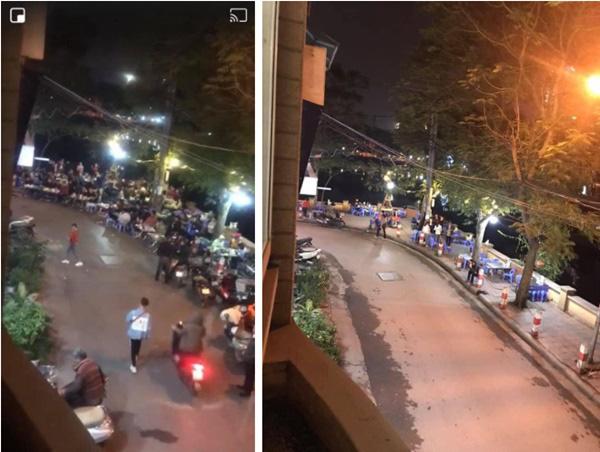 Bức ảnh chụp quán nhậu ở Hà Nội trước và sau nghị định 100 được chia sẻ liên tục - Ảnh 2.