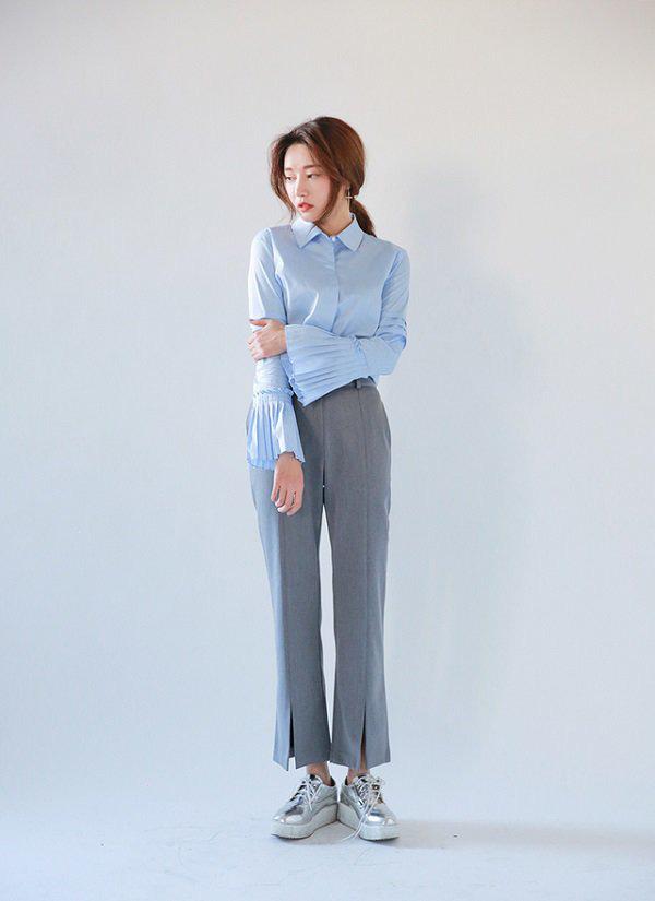 Khéo chọn áo sơ mi cách điệu, phong cách đi làm của chị em sẽ bớt nhàm chán hơn nhiều  - Ảnh 8.