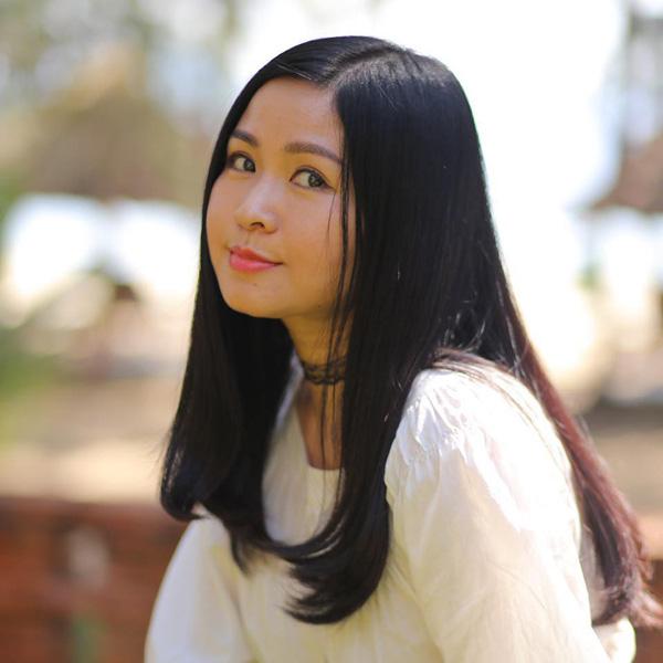 Nhan sắc mặn mà tuổi 48 của MC Đặng Châu Anh, bà xã đạo diễn Đỗ Thanh Hải - Ảnh 4.