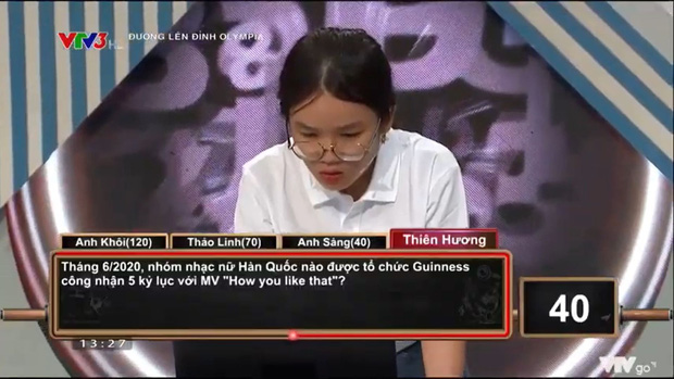 Fangirl chính hiệu đi thi Olympia: Gặp câu hỏi về BLACKPINK đã thoăn thoắt trả lời khi MC chưa đọc xong - Ảnh 1.