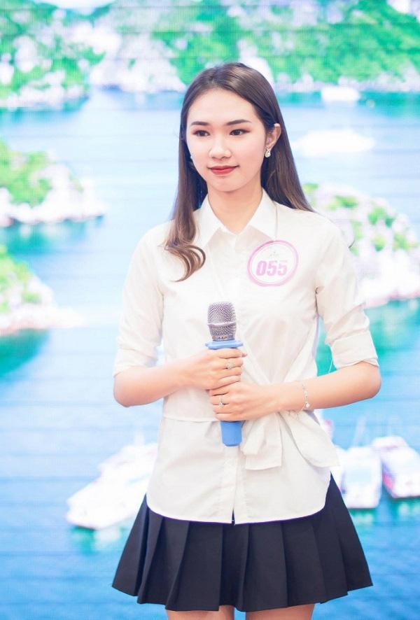 """Nhan sắc người đẹp Hạ Long bất ngờ rút khỏi """"Hoa hậu Việt Nam 2020"""" vào phút chót  - Ảnh 2."""