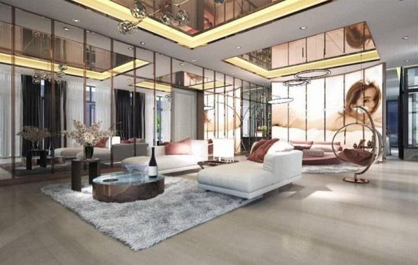 Tận mắt ngắm nội thất đẹp mê li trong căn nhà trị giá 50 tỷ của Ngọc Trinh - Ảnh 4.