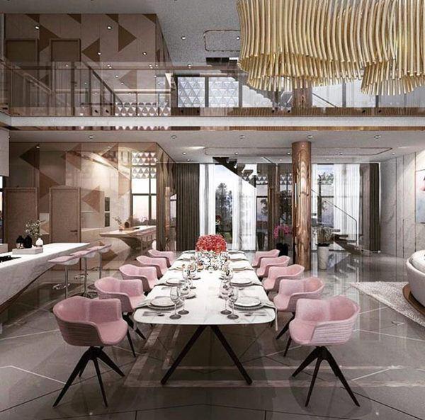 Tận mắt ngắm nội thất đẹp mê li trong căn nhà trị giá 50 tỷ của Ngọc Trinh - Ảnh 5.