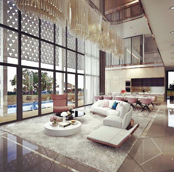 Tận mắt ngắm nội thất đẹp mê li trong căn nhà trị giá 50 tỷ của Ngọc Trinh - Ảnh 6.