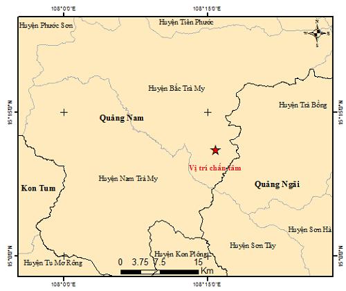Động đất gần thủy điện Sông Tranh 2 khi thủy điện đang đầy nước - Ảnh 1.