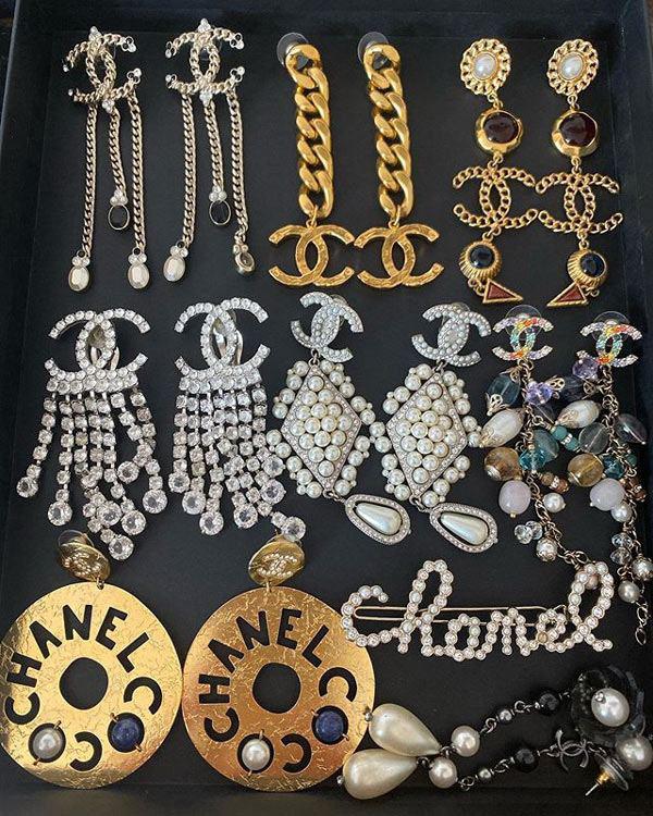 Đầu tư khuyên tai trăm triệu, Phượng Chanel mix hàng hiệu như chơi đồ hàng - Ảnh 2.