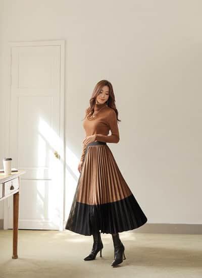 3 kiểu chân váy hot rần rần mùa Thu Đông 2020, nàng có vóc dáng khó mặc đến cũng không thể cưỡng lại được - Ảnh 3.