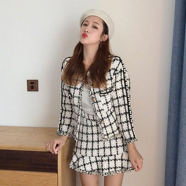 """Học sao Việt cách """"lên đồ"""" nguyên cây vải tweed chuẩn đẹp - Ảnh 14."""